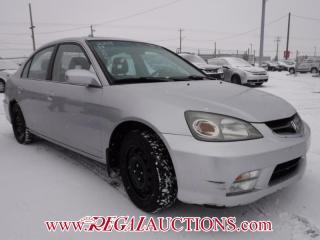 Used 2005 Acura EL PREMIUM 4D SEDAN for sale in Calgary, AB