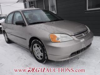 Used 2002 Honda Civic DX-G 4D Sedan for sale in Calgary, AB
