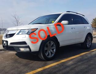 Used 2013 Acura MDX Elite Pkg for sale in Pickering, ON