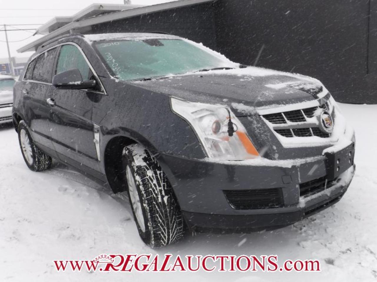 Photo of Grey 2010 Cadillac SRX BASE 4D UTILITY 2WD
