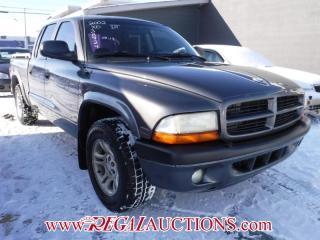 Used 2002 Dodge DAKOTA  QUAD CAB 2WD for sale in Calgary, AB