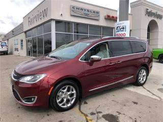 Used 2017 Chrysler Pacifica Limited..Not a Rental for sale in Burlington, ON