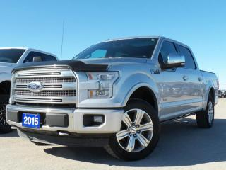 Used 2015 Ford F-150 *CPO* PLATINUM 3.5L 6CY  *1.9%* *FREE WARRANTY* for sale in Midland, ON