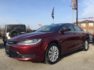 Used 2016 Chrysler 200 LX**JUST TRADED**AUDIO INPUT**CAR PROOF CLEAN** for sale in Mississauga, ON