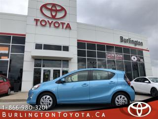 Used 2016 Toyota Prius c hybrid extended warranty for sale in Burlington, ON
