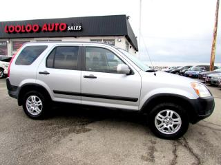 Used 2004 Honda CR-V EX 4WD Manual Transmission Cruise Control for sale in Milton, ON