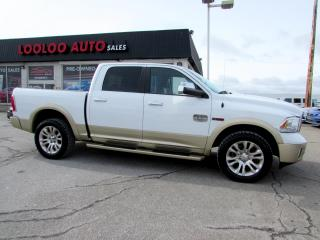 Used 2014 Dodge Ram 1500 Laramie Longhorn Edition Crew Cab 4WD Navigation for sale in Milton, ON