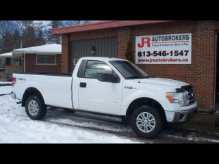 Used 2012 Ford F-150 Ecoboost XLT 4X4 Regular Cab Long Box for sale in Elginburg, ON