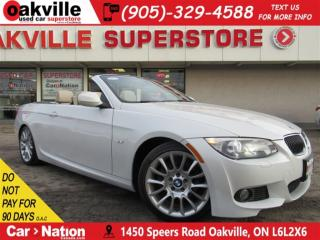 Used 2013 BMW 328 i M SPORT PACK | LEATHER | NAV | HARDTOP | LOW KM for sale in Oakville, ON