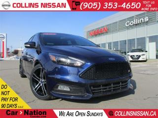 Used 2016 Ford Focus NAVI | ALLOYS | LEATHER | ST MODEL for sale in St Catharines, ON