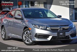 Used 2016 Honda Civic Sedan LX CVT for sale in Pickering, ON