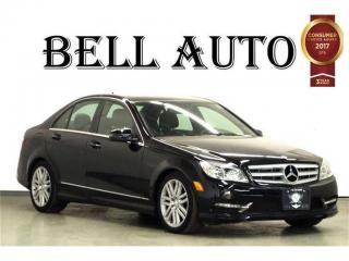 Used 2011 Mercedes-Benz C-Class C300 4MATIC NAVIGATION SUNROOF BLUETOOTH for sale in North York, ON