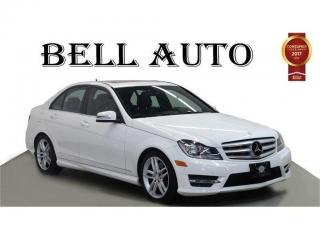 Used 2014 Mercedes-Benz C-Class C300 4MATIC GRAND EDITION PKG SPORT PKG SUNROOF for sale in North York, ON
