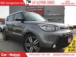 Used 2014 Kia Soul SX Luxury | NAV | LEATHER | PANO ROOF | CAM for sale in Georgetown, ON