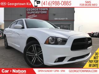 Used 2014 Dodge Charger SXT | AWD | NAV |  LEATHER | ROOF |  BACK UP CAM for sale in Georgetown, ON