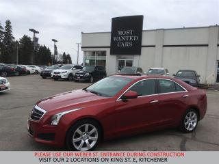 Used 2014 Cadillac ATS SUNROOF | BOSE | TOUCHSCREEN for sale in Kitchener, ON