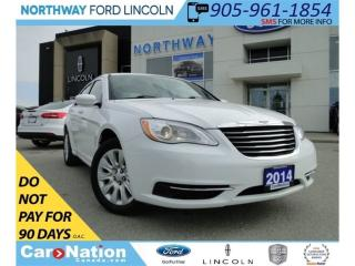 Used 2014 Chrysler 200 LX |  GREAT CONDITION | SAVE FUEL | for sale in Brantford, ON