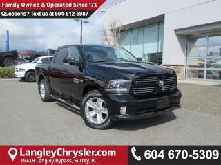 Used 2013 Dodge Ram 1500 Sport <B>*NAVIGATION*8.4 TOUCHSCREEN*BLUETOOTH*<b> for sale in Surrey, BC