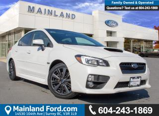 Used 2015 Subaru WRX Sport-tech Package LOW KMS, BC LOCAL for sale in Surrey, BC