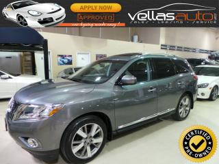 Used 2016 Nissan Pathfinder PLATINUM| 4X4| 7PASS| NAVI| DVD for sale in Vaughan, ON