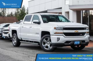 New 2018 Chevrolet Silverado 1500 Backup Camera, Nav, Heated/Power Seats for sale in Port Coquitlam, BC