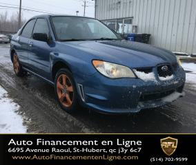 Used 2007 Subaru Impreza **AWD/AIR CLIMATISÉ/MAGS** for sale in Saint-hubert, QC