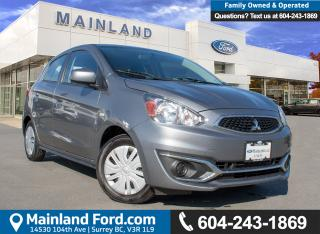 Used 2017 Mitsubishi Mirage ES ACCIDENT FREE, BC LOCAL for sale in Surrey, BC