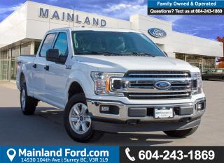 Used 2018 Ford F-150 XLT LOW KMS, ACCIDENT FREE, BC LOCAL for sale in Surrey, BC