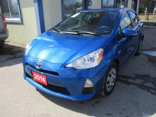 Used 2014 Toyota Prius c FUEL EFFICIENT 'TWO-EDITION' 5 PASSENGER 1.5L - HYBRID.. ECO-MODE.. EV-MODE.. CD/AUX/USB INPUT.. for sale in Bradford, ON