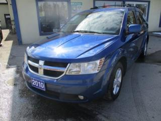 Used 2010 Dodge Journey FAMILY MOVING SXT MODEL 7 PASSENGER 3.5L - V6.. BENCH.. THIRD ROW.. CD/AUX INPUT.. BLUETOOTH SYSTEM.. SUNROOF.. for sale in Bradford, ON
