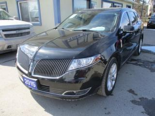 Used 2015 Lincoln MKT LOADED AWD 7 PASSENGER 3.5L - ECO-BOOST.. BENCH & 3RD ROW.. LEATHER.. HEATED/AC SEATS.. NAVIGATION.. DUAL SUNROOF.. BACK-UP CAMERA.. BLUETOOTH.. for sale in Bradford, ON