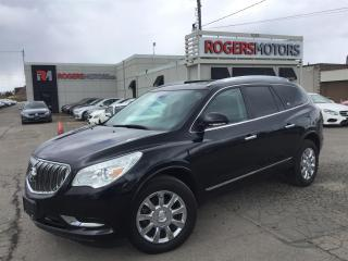 Used 2014 Buick Enclave - NAVI - DVD - 7 PASS - PANORAMIC ROOF for sale in Oakville, ON