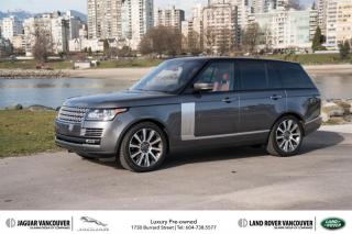 Used 2015 Land Rover Range Rover V8 Autobiography Supercharged SWB Low KM *Certified! for sale in Vancouver, BC