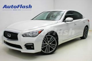 Used 2015 Infiniti Q50 Premium 's' Sport for sale in Saint-hubert, QC