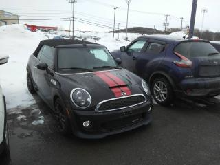 Used 2015 MINI Cooper CONVERTIBLE John Cooper Works 2 portes *GPS-CUIR-SON for sale in Levis, QC