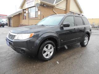 Used 2010 Subaru Forester X Sport 2.5L Automatic AWD Certified 157,000KMs for sale in Etobicoke, ON