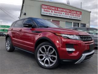 Used 2013 Land Rover Evoque Dynamic Premium for sale in Burlington, ON