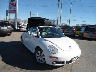 Used 2009 Volkswagen Beetle CONVERTIBLE AUTO NEW TIRES NEW BRAKES NO ACCIDENT for sale in Oakville, ON