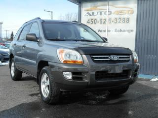 Used 2008 Kia Sportage *** LX, MAGS, A/C *** for sale in Longueuil, QC