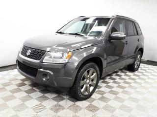 Used 2012 Suzuki Grand Vitara JLX-L 4x4 - Local One Owner Trade In | All Highway Mileage | New Tires | 16 Inch Wheels | Fog Lamps | Leather Interior | Heated Seats | Power Sunroof | Heated Seats | Climate Control with AC | Cruise Control | Excellent Condition | Keyless Start | Well Lo for sale in Edmonton, AB