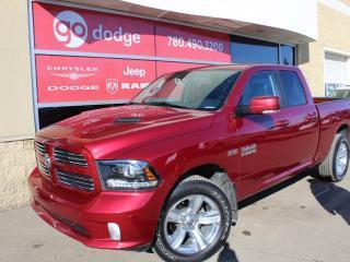 Used 2014 Dodge Ram 1500 Sport 4x4 Quad Cab / Sunroof / GPS Navigation for sale in Edmonton, AB