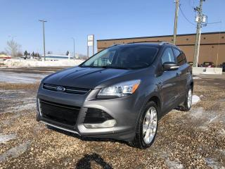 Used 2013 Ford Escape Titanium 4WD for sale in Stettler, AB