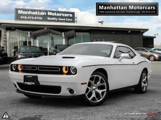 Used 2016 Dodge Challenger SXT PLUS |CAMERA|LEATHER|ROOF|FACWARRANTY for sale in Scarborough, ON
