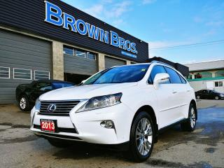 Used 2013 Lexus RX 350 leather, local, moonroof, htd seats, navigation for sale in Surrey, BC