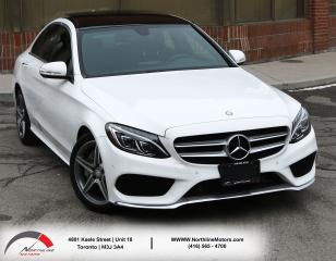 Used 2015 Mercedes-Benz C-Class C 300|AMG|Sport PKG|Navigation|Pano Roof| for sale in North York, ON