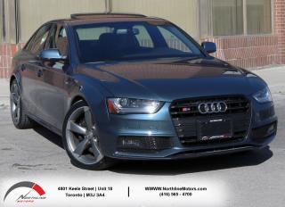 Used 2015 Audi S4 TECHNIK PLUS|Navigation|Backup Camera|Sunroof for sale in North York, ON