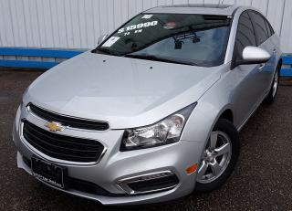 Used 2016 Chevrolet Cruze LT *LEATHER-SUNROOF* for sale in Kitchener, ON