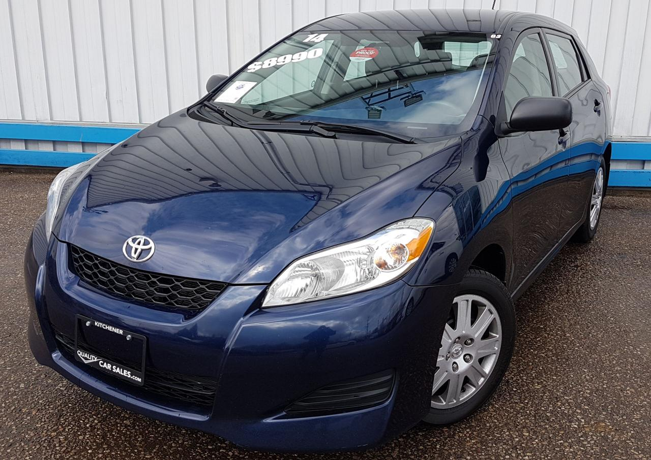 Used 2014 Toyota Matrix HATCHBACK for Sale in Kitchener, Ontario ...