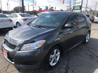 Used 2010 Toyota Matrix XR l Navigation l Backup Cam l Alloy for sale in Waterloo, ON