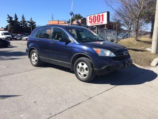 Used 2008 Honda CR-V AUTO,FWD,NO ACCIDENT,SAFETY+3YEARS WARRANTY INCLUD for sale in North York, ON